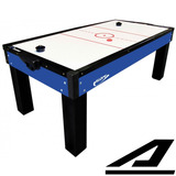 Mesa De Aero Hockey Air Game Azul 1045 Contador Melhor Frete