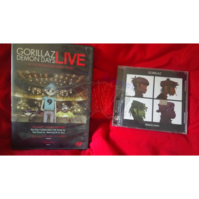 Gorillaz Demon Days / Cd + Dvd Live At The Manchester Opera