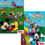 Casa De Mickey Mouse Para Colorear Libro Set (2 Libros - Mi