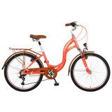Bicicleta Benotto City Bike Alum R24 7v Dama Src Fnos V