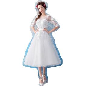 Vestido De Debutante Branco - 34 36 38 40 42 44 46 - Va00033