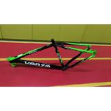 Quadro Bicicleta 26 Aluminio Venzo Viper Tam18 Pto/verde