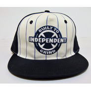 Boné Independent Ring Twill Hat Branco E Azul Importado