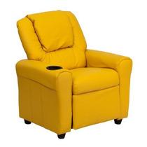 Muebles Flash Dg-ult-kid-yel-gg Contemporáneo Amarillo Vinil