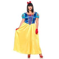 Disfraz Tallas Extras Mujer Princesa Blanca Nieves Disney