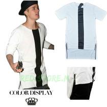 Polera Larga Extendida Moda Justin Bieber
