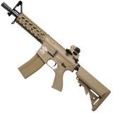 Rifle De Airsoft G & G Cm16 Máquina De Combate Raider Coyote