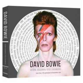 Livro David Bowie História, Discografia, Fotos E Documentos