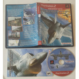 Ace Combat 4 * Shattered Skies Gh / Playstation 2 Ps2
