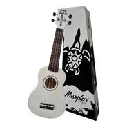 Ukulele Soprano Branco Memphis Honu Madeira By Tagima White