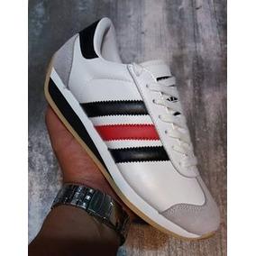 2bbcacc293b Tenis Zapatillas adidas Country - Blanco Rojo Mujer 2018 ·   158.909