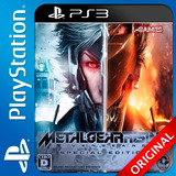 Metal Gear Rising Ps3 Digital Revengeance Elegi Reputacion