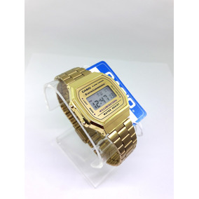 Reloj casio retro dorado mujer mercadolibre