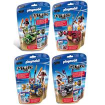 Playmobil Piratas Cañones Interactivos 4 Juegos 6162 6165