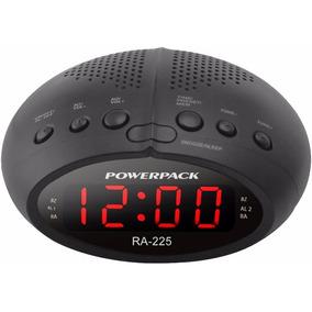 a37e5bc225f Radio Relogio Bluetooth C Caixa Acustica 10w Rms Preta Oex por Mm Santos. 1  vendido · Rádio Relógio Digital Powerpack Formato 24 Hrs Com Rádio Fm