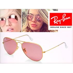 São Paulo · Óculos De Sol Aviador Ray Ban 3025   3026 Unisex Rose d6700361c6