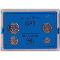 Suecia 10, 50 Ore Y 1,5 Kronor 1985 * Mint *