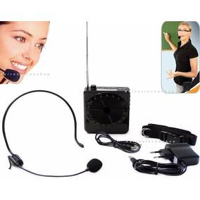 Amplificador Voz Megafone Microfone Professor Aula Venda Com