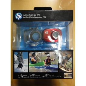 Camara Hp Ac100 Red Action Cam