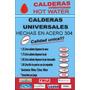 Calderas Universales Para Dispenser De Agua Frio/calor
