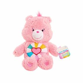 Pelúcia Ursinhos Carinhosos Rosa Coração Esperança 20cms