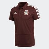 adidas Playera Polo Selección Mexicana Color Vino México