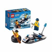 Lego City N° 60126 Policia Ladron + Vehiculos 100% Original