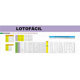 Planilha Lotofácil - 10 Bilhetes Equilibrados
