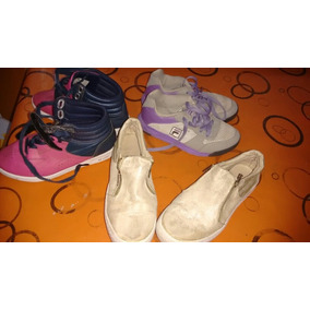 Reebok, Fila Y Zapatos De Salir Lote Completo30/31