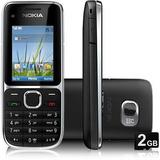 Celular Desbloq Nokia C2-01 Nacional(vitrine)s/caixa.novo
