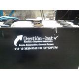 Reparación Baterías Cargadores Autoelevador Industrial