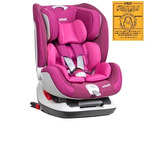 Silla Auto Convertible Infanti Thunder Isofix Stone Pink