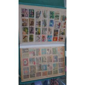 Coleção De Selos +ou- 750 Selos