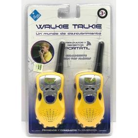 El Duende Azul Walkie Talkie Portatil 6690