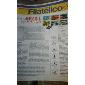 Lote De 50 Infomativos Filatelicos. Ler Anuncio