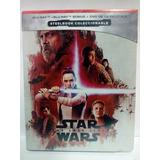 Star Wars The Last Jedi Steelbook Bluray + Dvd Pelicula