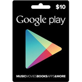 Tarjeta Google Play Gift Card $10 Dolares