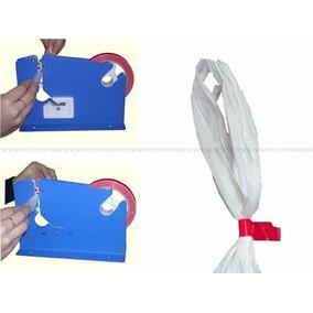 Lacradora Seladora Saco Plastico Sacola Lacre Segurança Fita