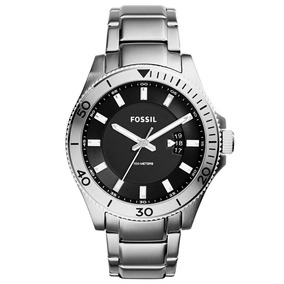 Relógio Masculino Analógico Fossil, Pulseira Aço Fs5058/1pn