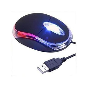 Mouse Marca Taurus Luz Optico Luces Super Economico 1200 Dpi