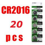 20 Pilas Cr2016 3v Batería, Control, Alarmas, Calculadoras.