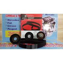 Kit Correia Dentada + Kit Corr Alternador C4 Pallas 2.0 16va