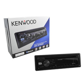 Cd Player C/ Entr. Aux/usb Bluetooth Integ. - Jvc-kenwood Kd