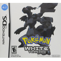 Pokemon White Version Mídia Física 100% Original Novo Nds