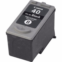 Cartucho Canon Pg40 Preto 25ml Pg-40 Ip1800 Ip1900 Mp160