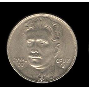 Moeda 400 Réis Reverso Invertido 1938 Soberba Osvaldo Cruz