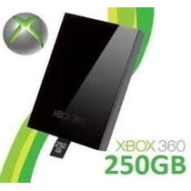 Hd 250gb P/xbox 360 Slim E Super Slim Novo Pronta Entrega
