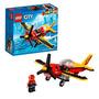 Lego 60144 Lego City Avião De Corrida Novo Original
