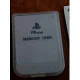 Memory Card Playstation One Psx Sony Original