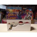 Antigua Pistola Robotech Hasbro Space Luz Sonidos1987 Jretro
